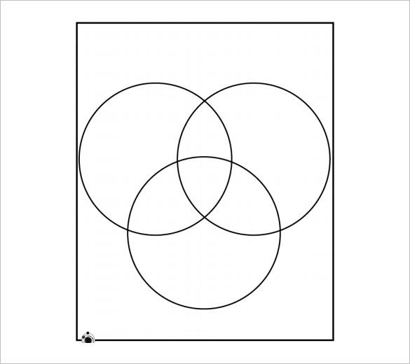 three circle venn diagram print fujitsu ten limited radio wiring 8+ blank templates – free sample, example format download!   & premium