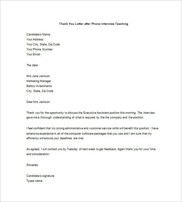 Thank You Letter After A Phone Interview from i0.wp.com