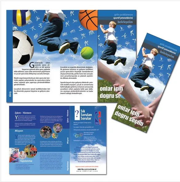 14 Basketball Brochure Templates – Free PSD EPS Illustrator AI