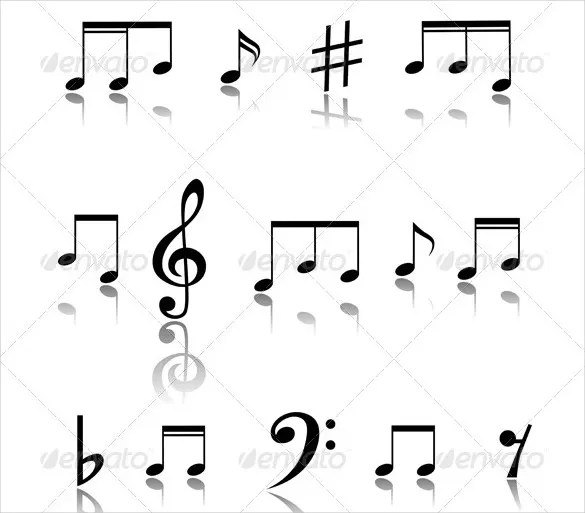 Musical Note Template 9 Free Pdf Eps Format Download Free Premium Templates