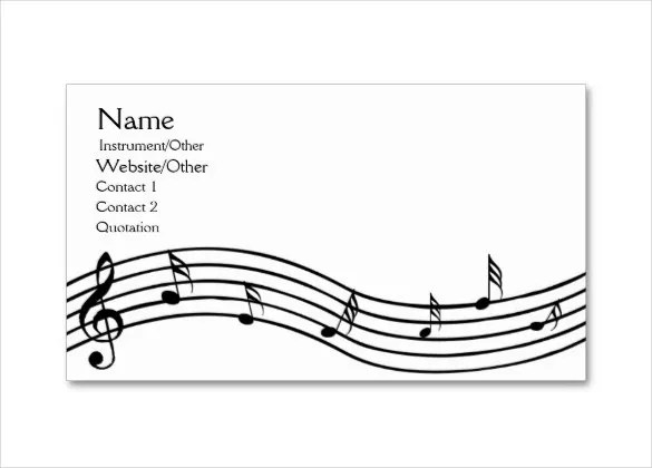 12+ Musical Note Templates
