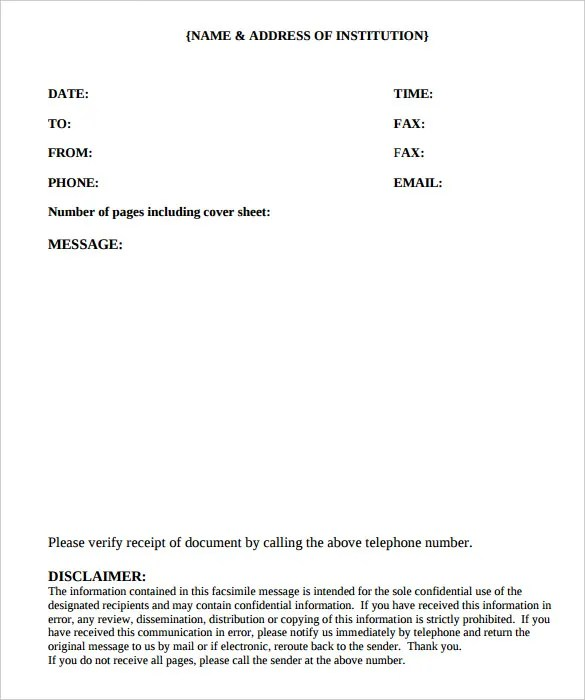 fax cover sheet template pdf fax cover sheet template pdf fax