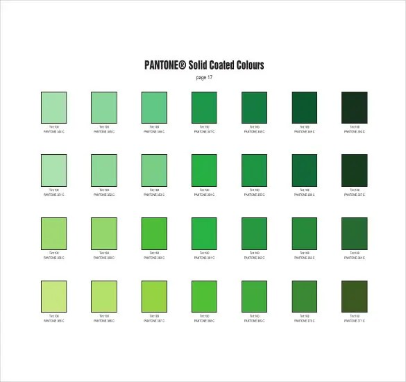 pantone rgb color chart pdf