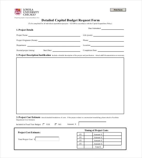 capital budget template | trattorialeondoro