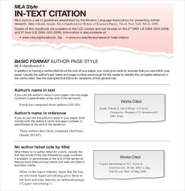 10 MLA Annotated Bibliography Templates – Free Sample Example
