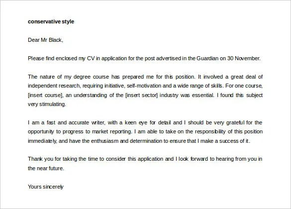 16 Cover Letter Templates  Free Sample Example Format Download  Free  Premium Templates