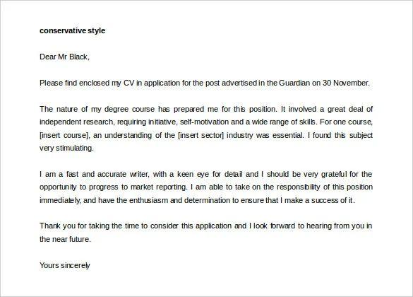 sample cover letter for resume for freshers