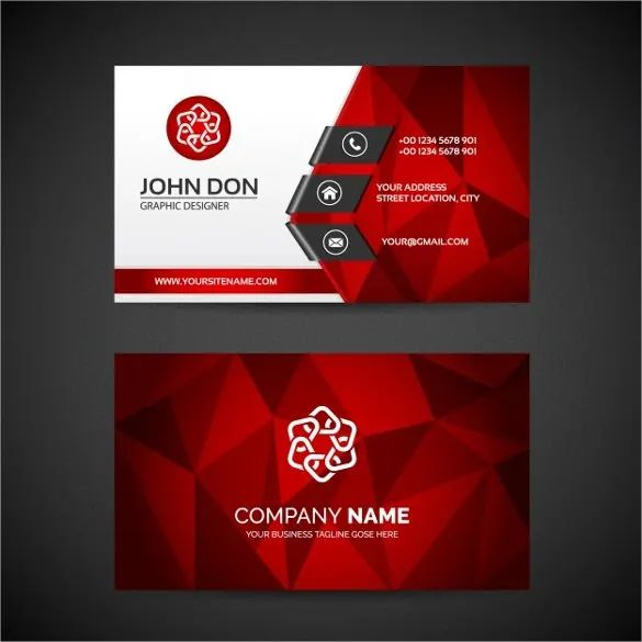 professional business card layouts