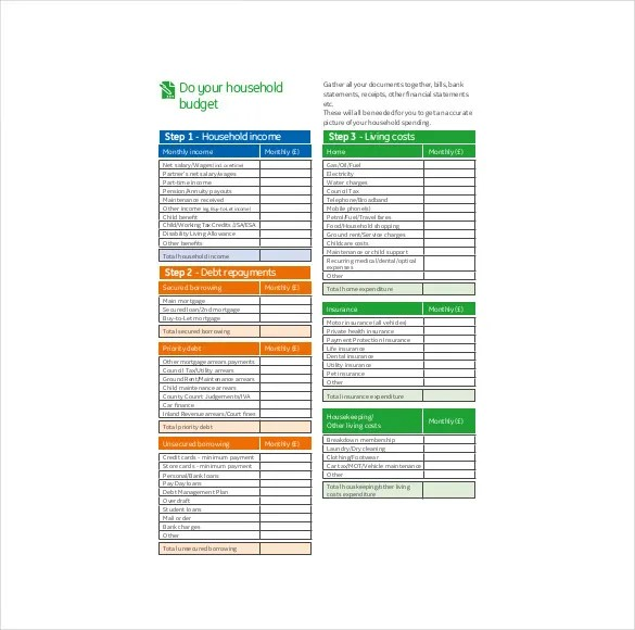13+ Budget Planner Templates - Free Sample, Example, Format Download ...