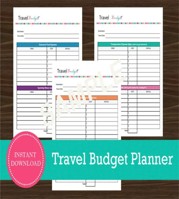 10+ Travel Budget Templates – Free Sample, Example, Format Download ...