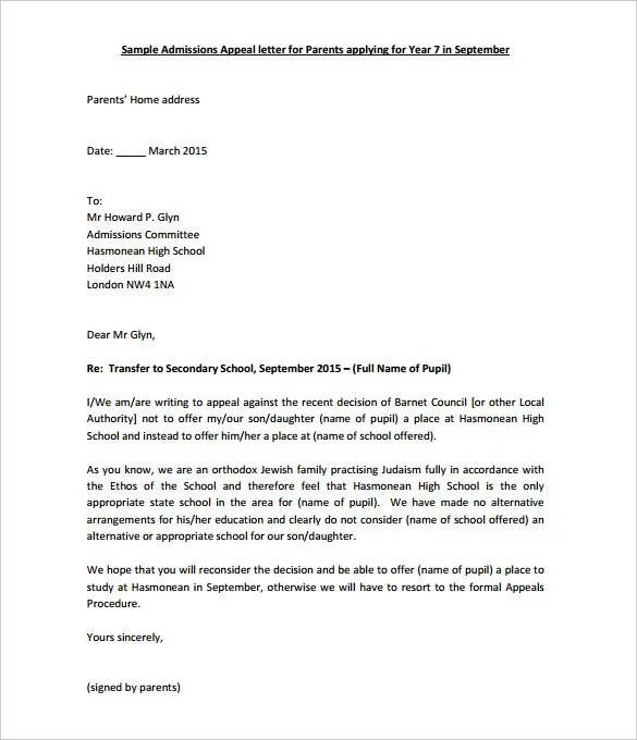 Leave application letter for school teacher
