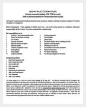 415+ Job Description Templates – Free Sample, Example, Format ...