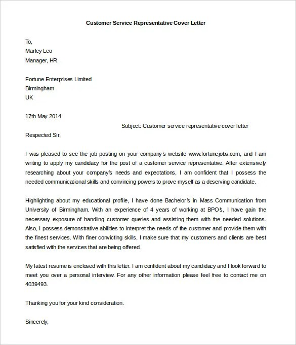 55 Cover Letter Templates  PDF Ms Word Apple Pages Google Docs  Free  Premium Templates