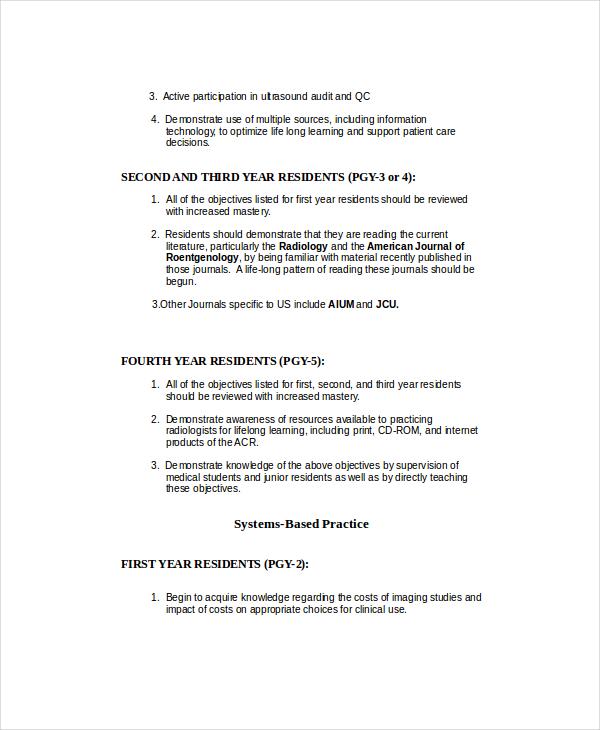 Ultrasound Technician Resume 6 Free PDF Documents