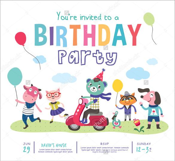 31 Birthday Party Invitation Templates Sample Example