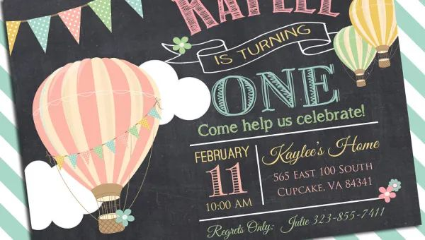format for birthday invitation