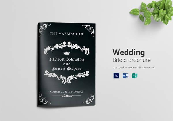 26+ Wedding Brochure Templates – Free Sample, Example, Format ...