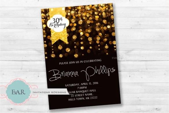 Printable 60th Invitations