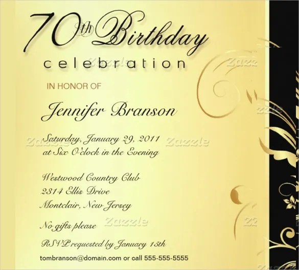 40 adult birthday invitation templates