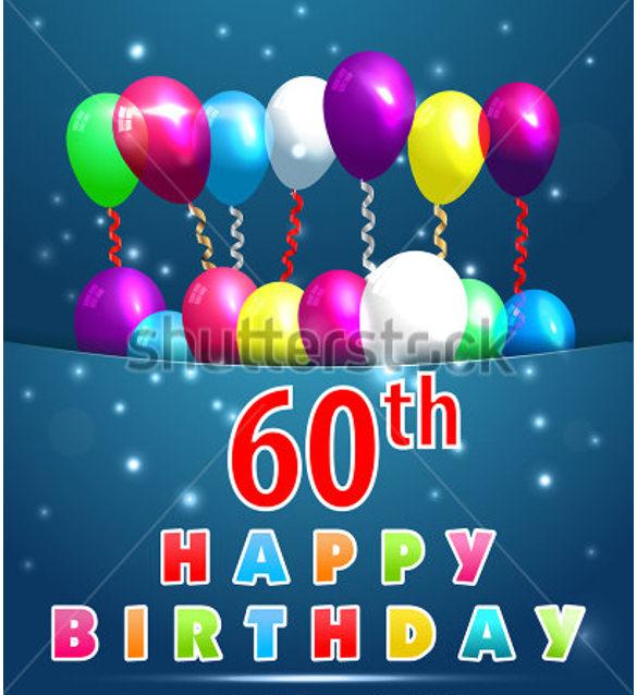 28 60th Birthday Invitation Templates PSD Vector EPS AI Free Amp Premium Templates