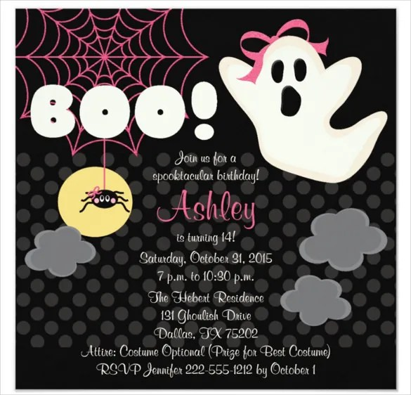 I was wondering what i should make the spear out of and how i sh. 30 Halloween Birthday Invitation Templates Free Sample Example Format Download Free Premium Templates