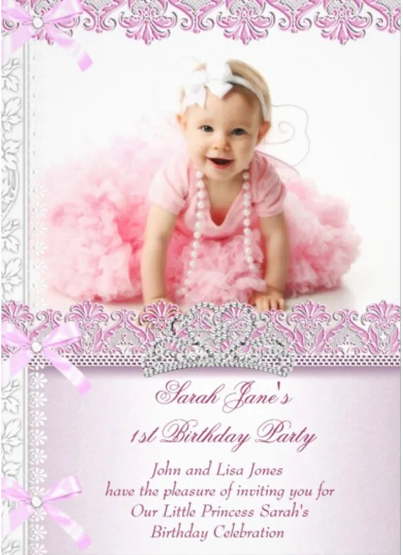 36 First Birthday Invitations PSD Vector EPS AI Word