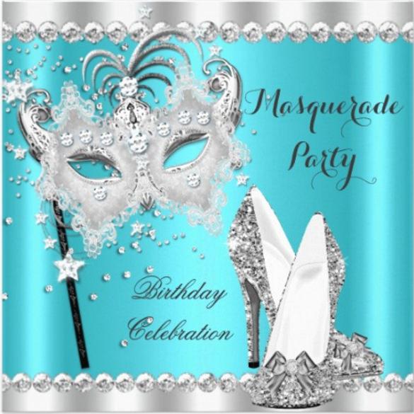 Carnival Party Invitations