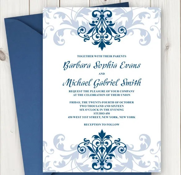20 Formal Invitation Templates Free Sle Exle Format