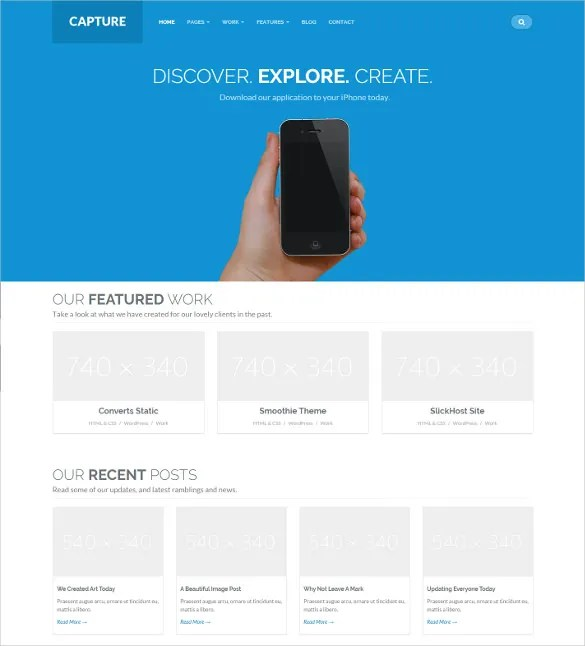 36 Mobile Bootstrap Themes Templates Free Premium