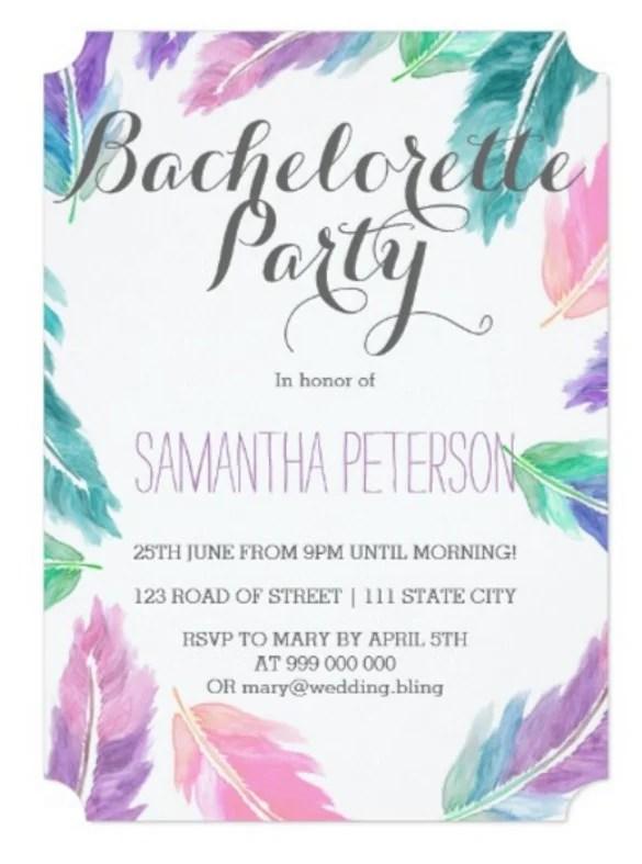 32 Bachelorette Invitation Templates  PSD AI Word Pages  Free  Premium Templates
