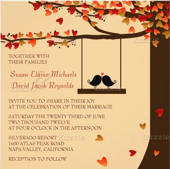 sample marriage invitation email to colleagues wedding