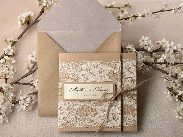 Exclusive Broke Bride Wedding Printables Elegant Pocketfold Invitations From Print The Bad Inspiration On A