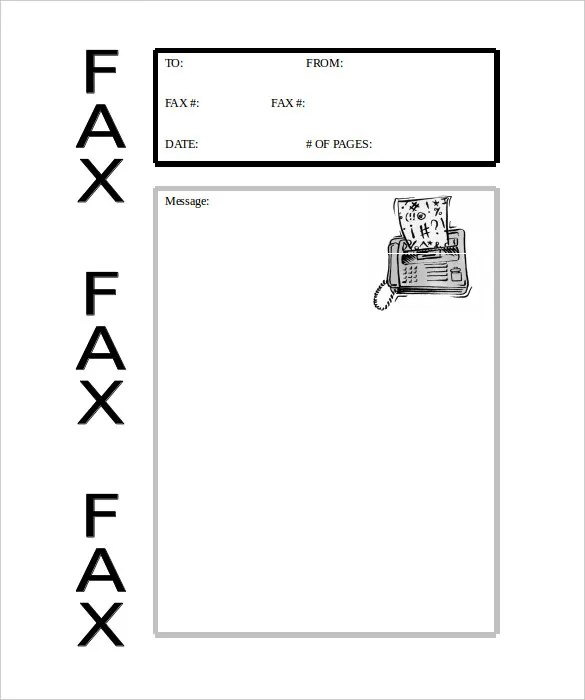 10+ Business Fax Cover Sheet Templates – Free Sample, Example Format ...