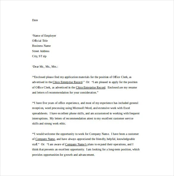 15 Professional Cover Letter Templates  PDF Google Docs MS Word Apple Pages  Free