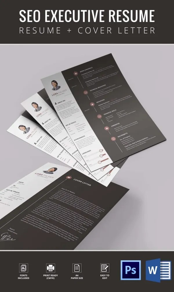 Resume Template  92 Free Word Excel PDF PSD Format Download  Free  Premium Templates