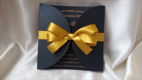 21 Handmade Wedding Invitation Templates  Free Sample Example Format Download  Free