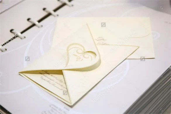 21 Handmade Wedding Invitation Templates – Free Sample