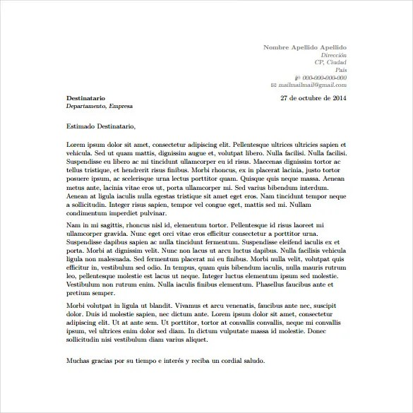 Cover Letter Template Latex Image Collections Sles Format