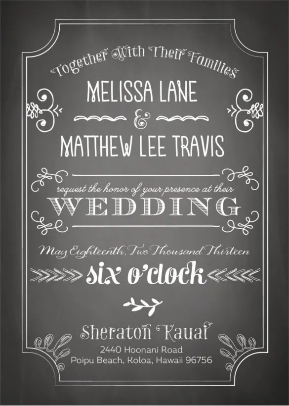 Black And White Wedding Invitation Templates Upfashionycom Template Uk New