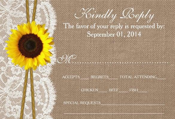 16 Sunflower Wedding Invitations PSD JPG Word AI Free Amp Premium Templates