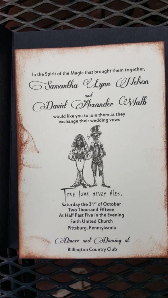 22 Halloween Wedding Invitation Templates Free PSD AI Format Download Free Amp Premium