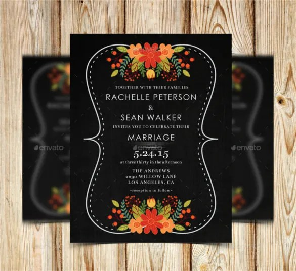 Zulu Wedding Invitation Cards