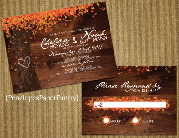 Custom Laser Cut Wedding Invitations