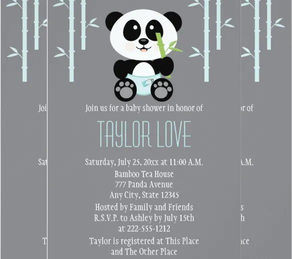 Whale Baby Shower Invitation Templates