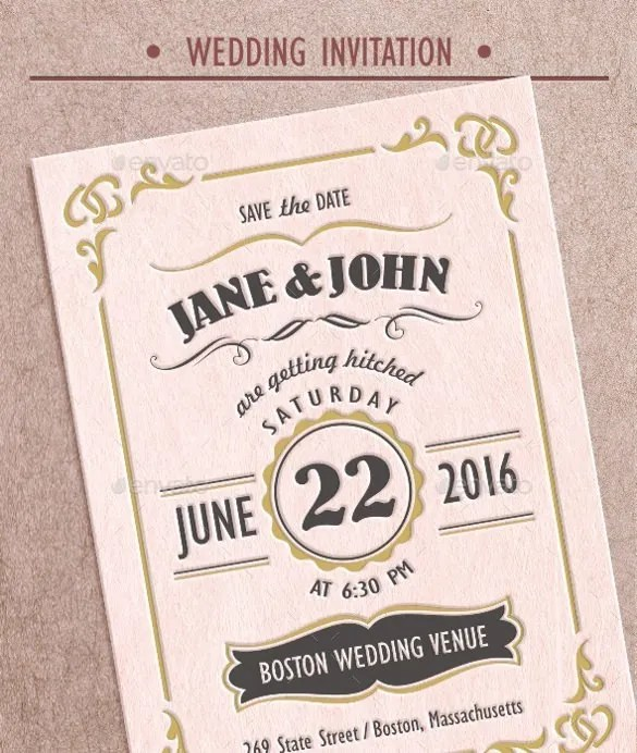 Vine Wedding Invitation Wording And Rsvp Format Invite Your Friends Family To