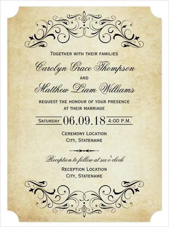 Marriage Invitation Wordings