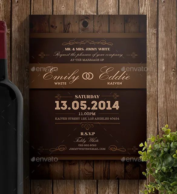 wedding invite wording templates free