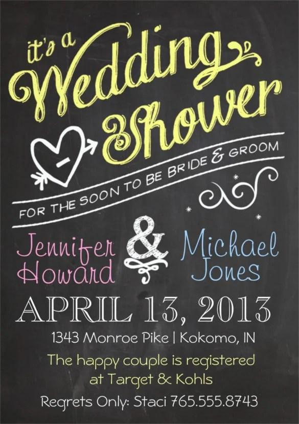 Free Wedding Shower Invitations Template Edawtbki