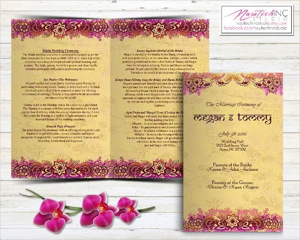 Printable Ceremony Wedding Invitation