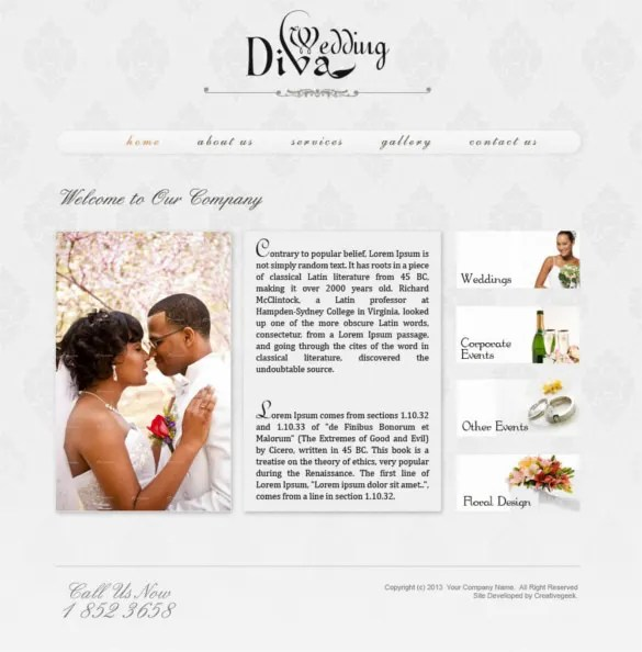 38 PSD Wedding Templates  Free PSD Format Download  Free  Premium Templates